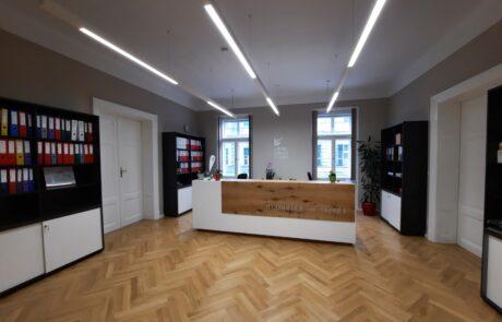 Reception area new