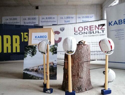 Klinikum Klagenfurt: Gleichenfeier für den Neubau der Psychiatrie