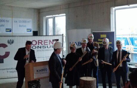 Clinic Klagenfurt: Celebration for the new psychiatric building