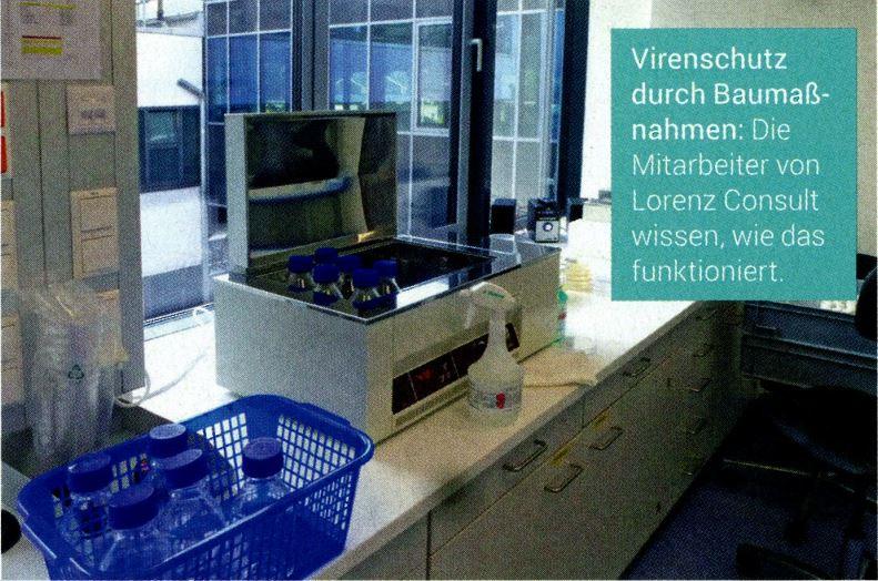 Chemiereport - Blocking viruses