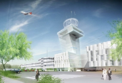 New air traffic control centre and tower at Salzburg Airport
