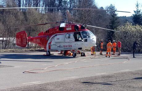 Hubschraubereinsatz Chirurgie