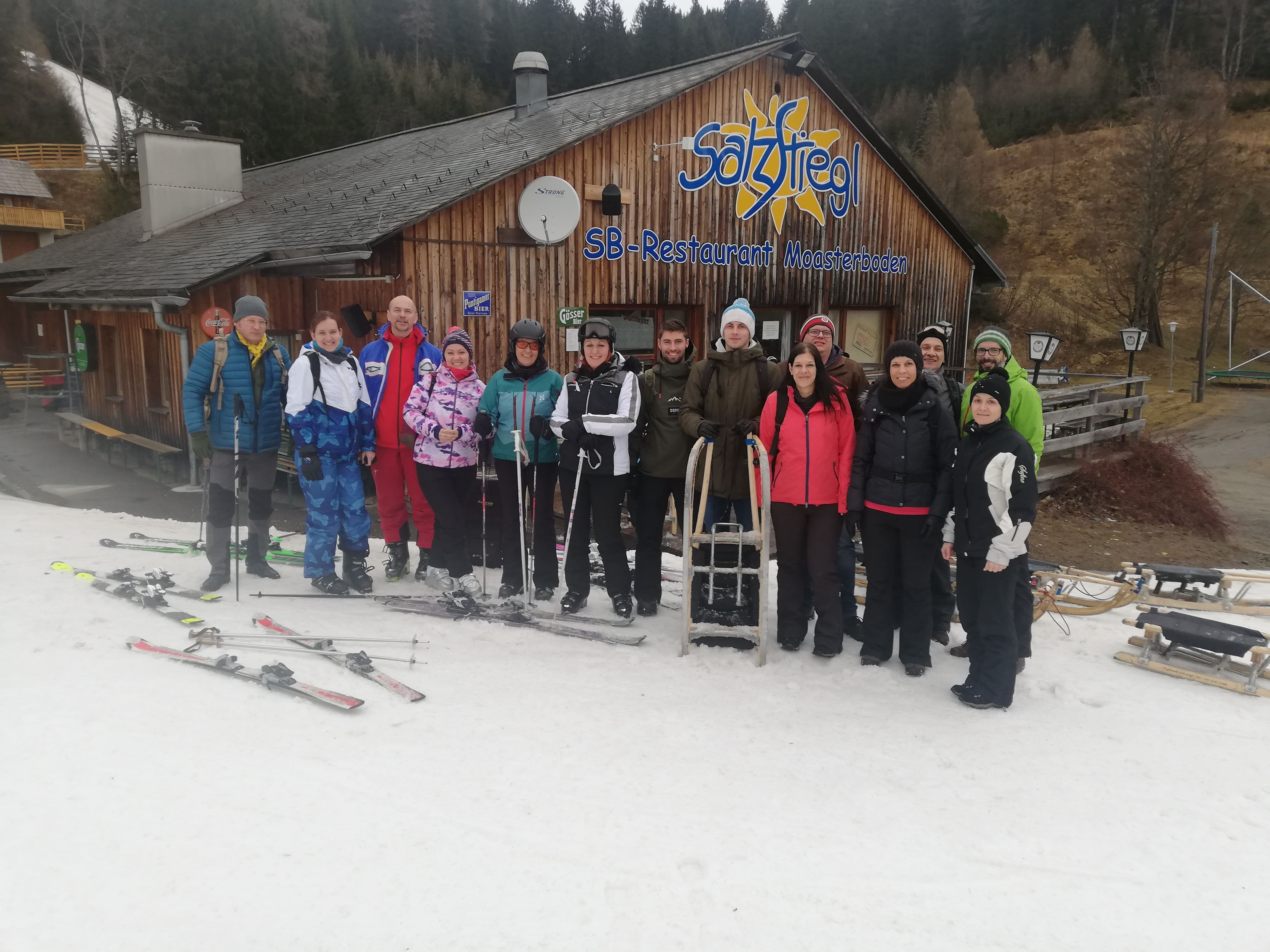 Skiing day 2020