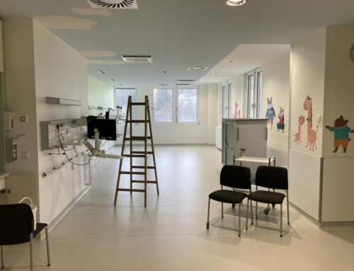 AU34 Pediatric surgery – recovery room, LKH Graz
