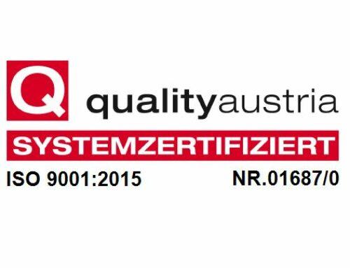 QM Verlängerungsaudit ISO 9001:2015