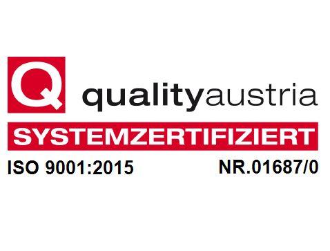 qualityaustria ISO 9001:215