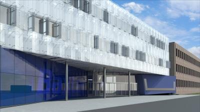 Erweiterung Administrationsgebäude Fa. Baxter