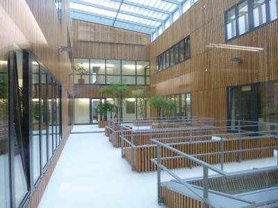 Multifunctional building Orth/Donau, Baxter AG