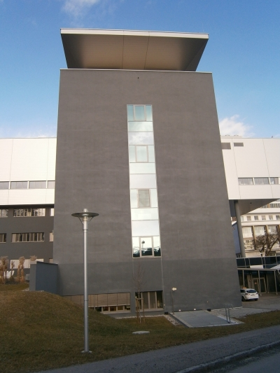 New building of the University Blood Bank, University Hospital Graz