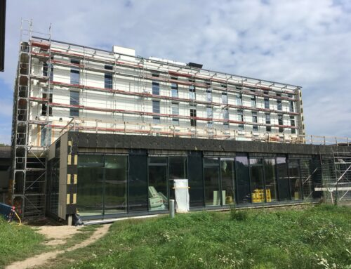 Construction progress ÖBB apprentice home St. Pölten