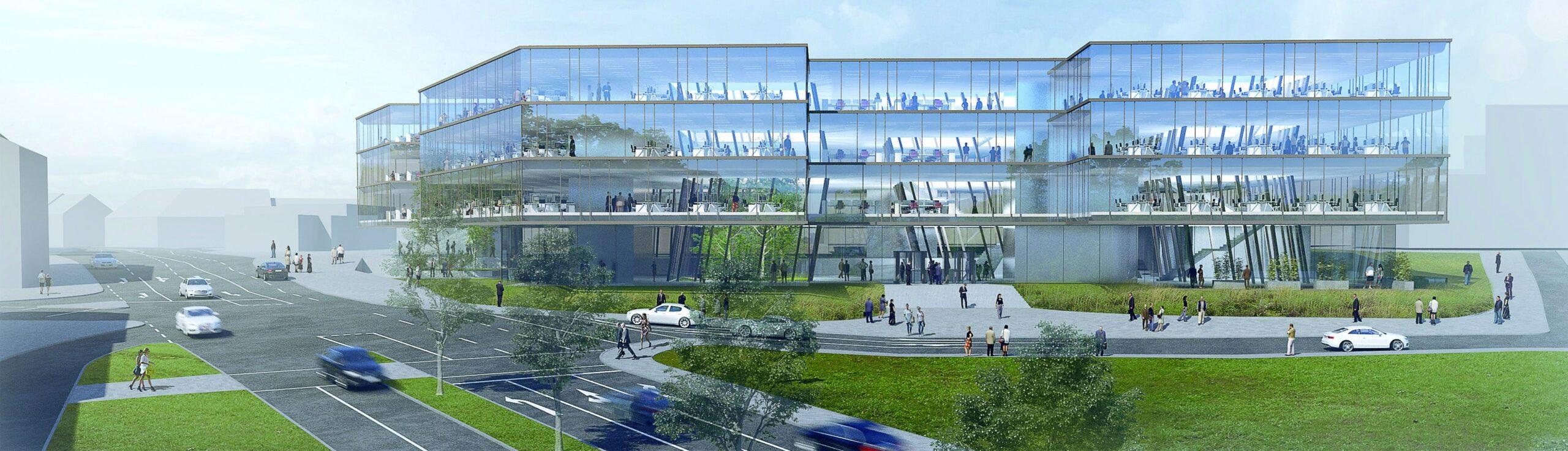 Neubau Wuppertaler Stadtwerke, Deutschland
