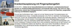 Krankenhausplanung mit Fingerspitzengefühl