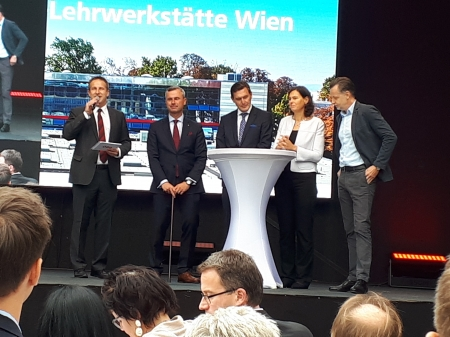 offizielle Eröffnungsfeier ÖBB-Zentrallehrwerkstätte