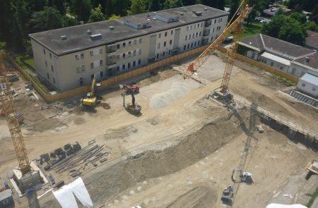 Baufortschritt Klinikum Klagenfurt