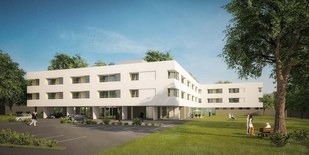 New building of the Landespflegezentrum Mürzzuschlag