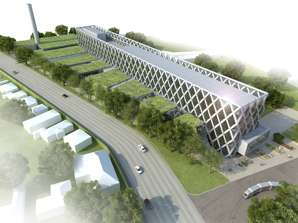 New building Wilhelminenspital Subproject 1 - Office and business building, Viennese Hospital Network