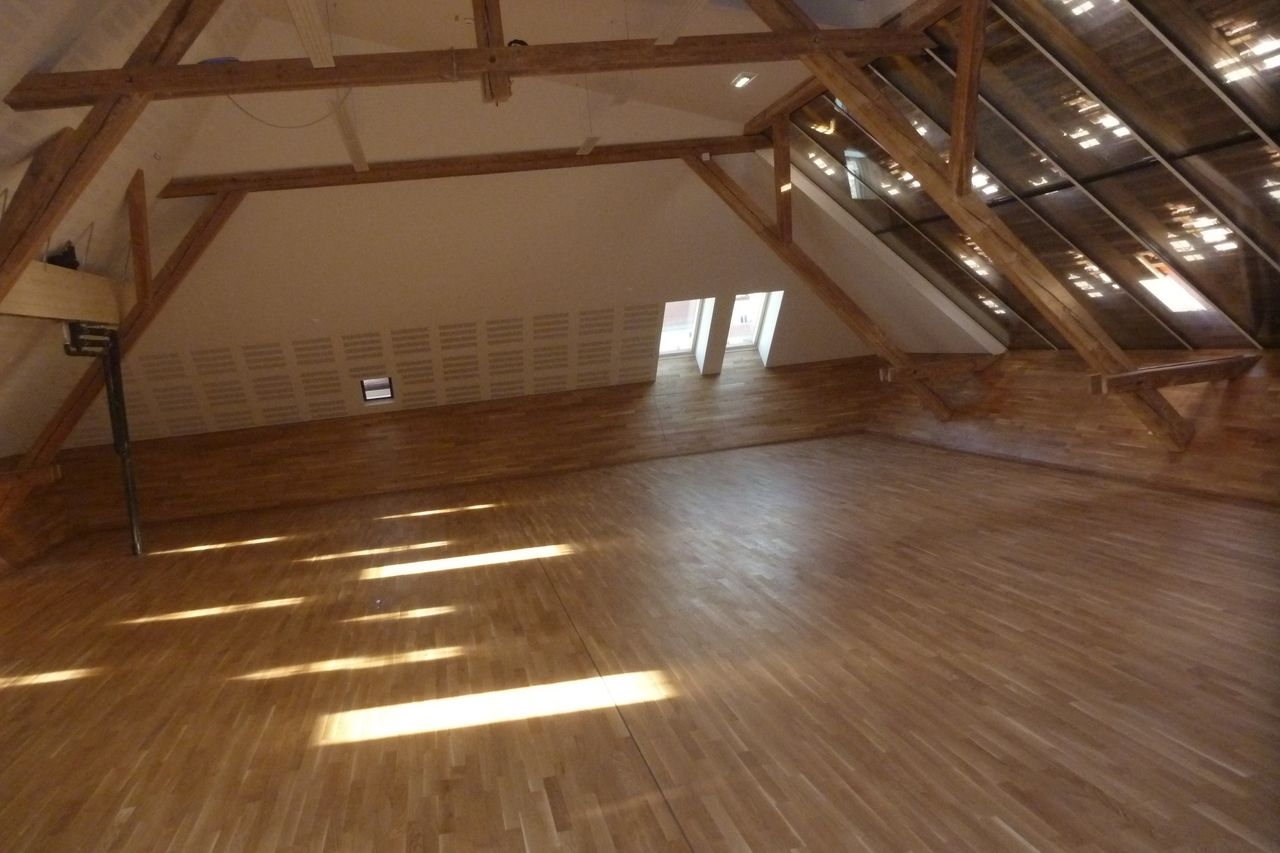 Conversion attic, Albert-Schweitzer-Hospiz
