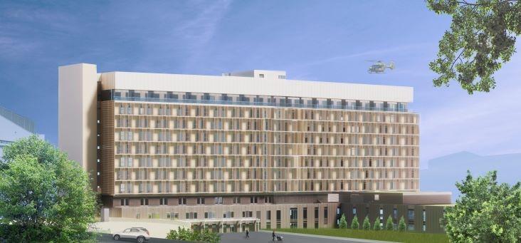 Zielplanung Chirurgiekomplex 2020, Bauetappe 2, Univ. Klinikum Graz
